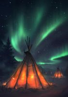 Northern Lights by artofmarius
