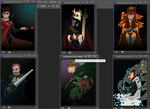 (WIP) Achievement Hunter Poster Series by the-pirate-heart