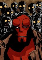 hellboy by BankyStar