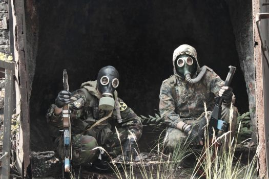 Unimpressed Stalkers (S.T.A.L.K.E.R. cosplay) by DrJorus