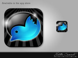 Twitchat app icon by Matylly
