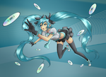 Hatsune Miku [COLORING] by coco-nut-macaroon