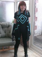 Tron Legacy Program Cosplay by TheWaffleMaiden