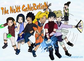 Naruto Next Generation Group by witchofoz93