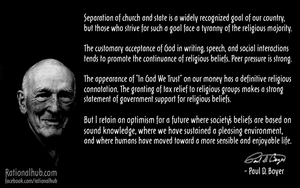 Paul D. Boyer on secularism in US.. by rationalhub