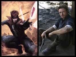 Marvel Movie Casting: Gambit by Myths-of-Genesis
