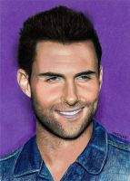 Colored Pencil Drawing: Adam Levine by JasminaSusak