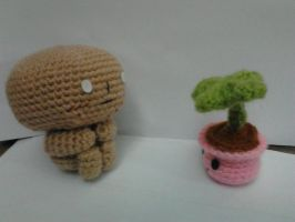 Watching the plant grows............. Boring LOLOL by NVkatherine
