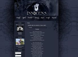 Innocens official website by brejk