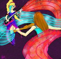 power of music 1 by Whisper-of-a-phoenix