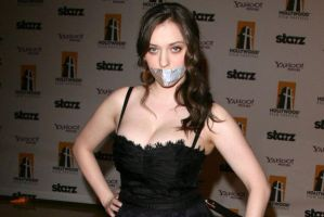 Kat Dennings tape gagged by The-email