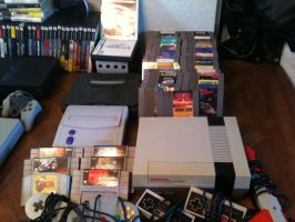 Video Game Collection 2015 (Nintendo) by elvenbladerogue