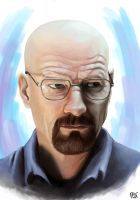 Bryan Cranston as Walter White form Breaking Bad by F-BS