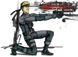 Metal Gear Ben by Rathan-Marxx