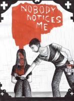 Nobody notices me by 13sticker