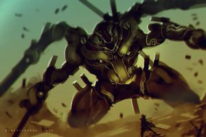 30mins Speedpaint FINAL BOSS fight by benedickbana
