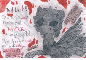 Weeping angel...pony. by emi12345