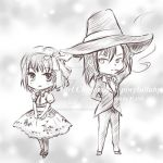 Chibi PiwyLullaby Sketch Commission by hase-illustration