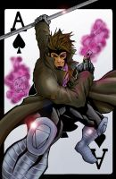 gambit colored by hanzozuken