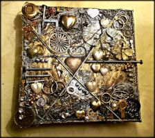 Original Artwork 3D Canvas Steampunk/Mixed Media by AryiaCassandra