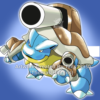 009 - Classic Mega Blastoise by Tails19950