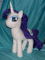 Large Rarity plush by Bladespark