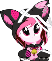 Commission: Kitty Strawberry Cream by Oathkeeper21