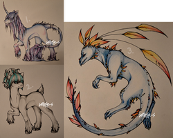 Adoptables. [OPEN] by jamm3rs