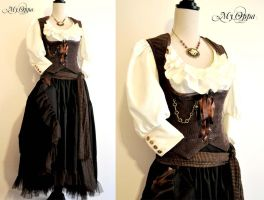 Custom order costum steampunk/pirate by myoppa-creation