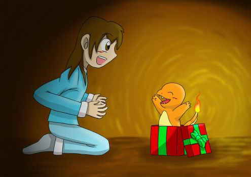 Christmas present. Charmander! by MipeLaz
