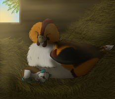 :CE: A New Day On The Farm by OkamiWhitewings