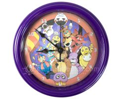 Five Nights at Freddy's Wall Clock by Esclair-Studios