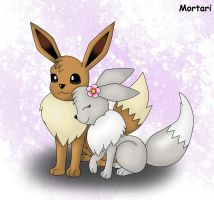 Eevee is Love! by BihMortari