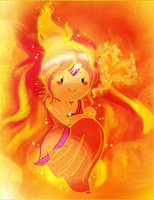 Flame Princess by KitaW99
