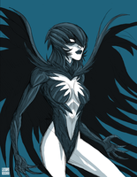 New 52 Raven by LucianoVecchio