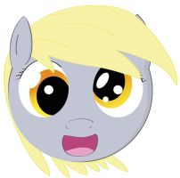 Rough Derpy Hooves- First Digital drawing of pony by JAWSify