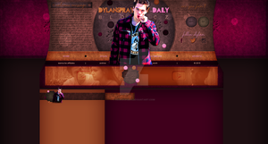 Ordered layout with Dylan Sprayberry by redesignbea