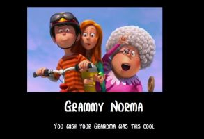 Grammy Norma by mynameisqwerty