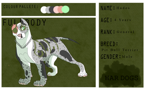 Hades War Dogs General by WendigoEater