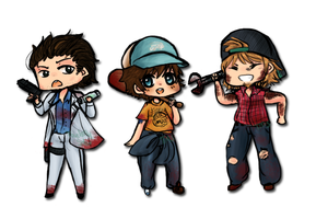 Lfd2 Chibis by TouchMySitar