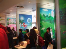 KTD and MGWT at Nintendo World 18 by MarioSimpson1