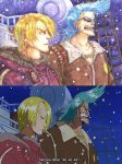 Redraw: Sanji and Franky by silverpen1431