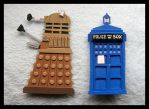 Pins - Doctor Who by GwydionAE