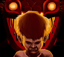 Anger Child by JustDayside
