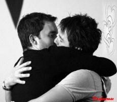 Jack and Ianto: Kiss by darkenrose
