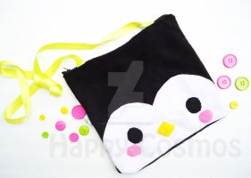 Penguin Bag by CosmiCosmos