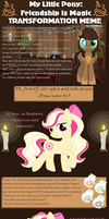 Transformation Meme - Raspberry Delight by chunk07x