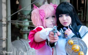 Madoka Magica - Together we will fight them by SaachiChu