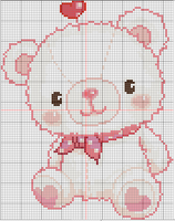 pink bear by YuikoHeartless