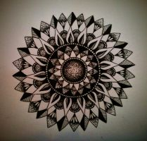 Edited Mandala by CatherineMonk